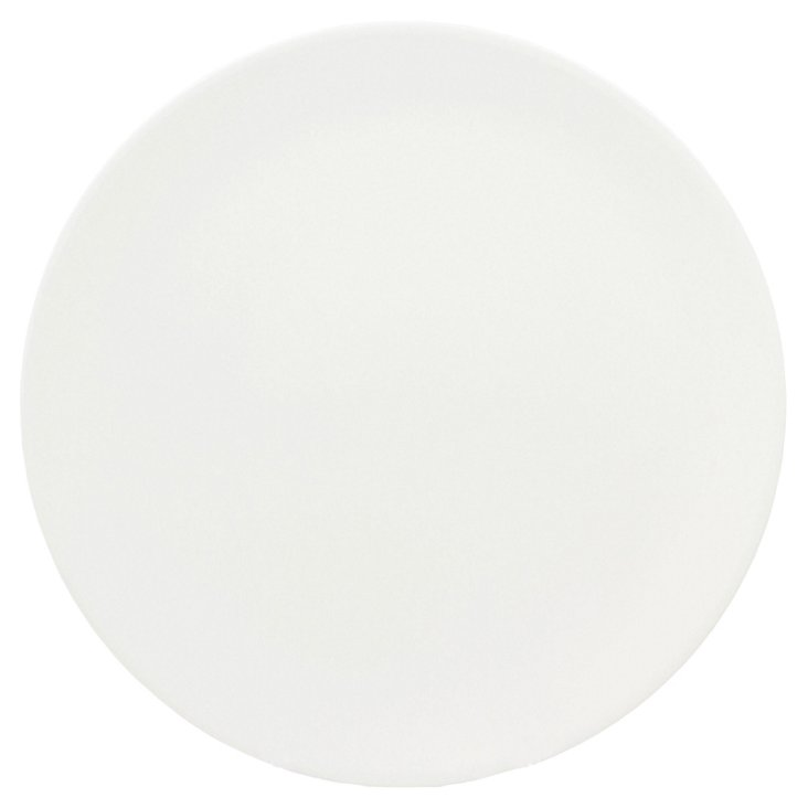 S/4 Melamine Moon Appetizer Plates