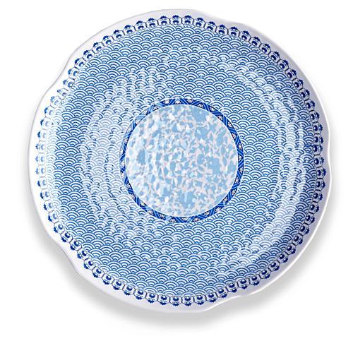 Heritage Melamine Platter, Sky