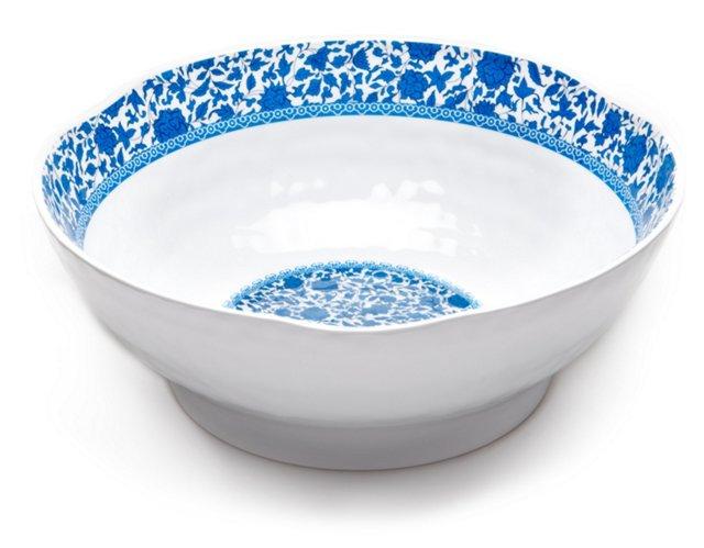 Melamine Heritage Serving Bowl