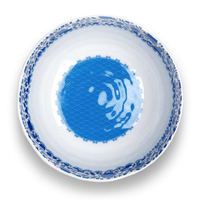 S/6 Melamine Heritage  Dinner Bowls