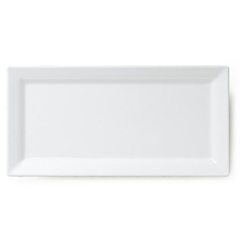 Melamine Serving Platter, White