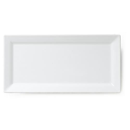 Melamine Serving Platter, White