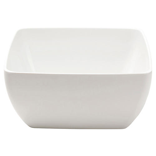 Melamine Serving Bowl, White