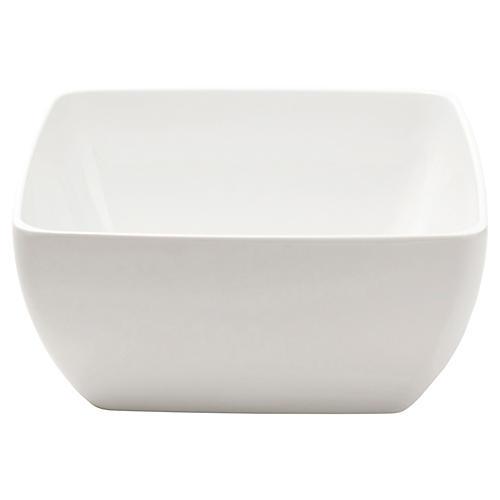 Melamine Serving Bowl, White