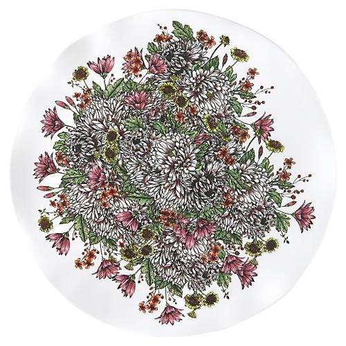 Knoll Gardens Melamine Serving Platter
