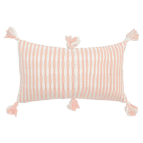 Antigua 12x20 Pillow, Peach