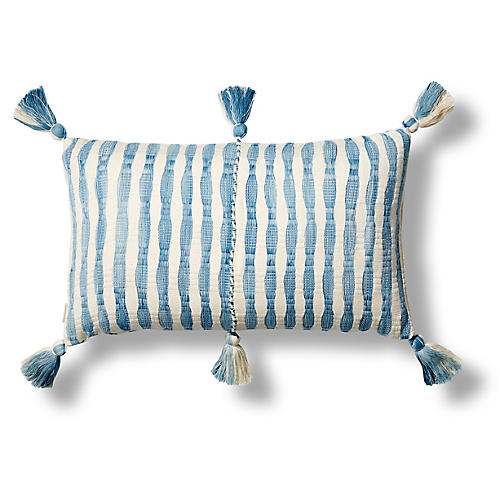 Antigua 12x20 Pillow, Light Blue