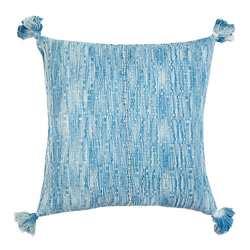 Antigua 20x20 Pillow, Ocean Blue