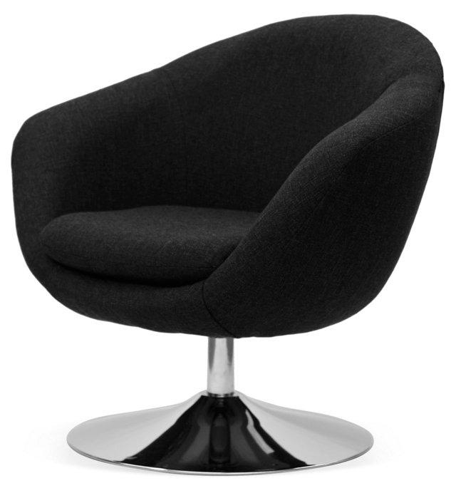 Daniels Disc-Base Chair, Black