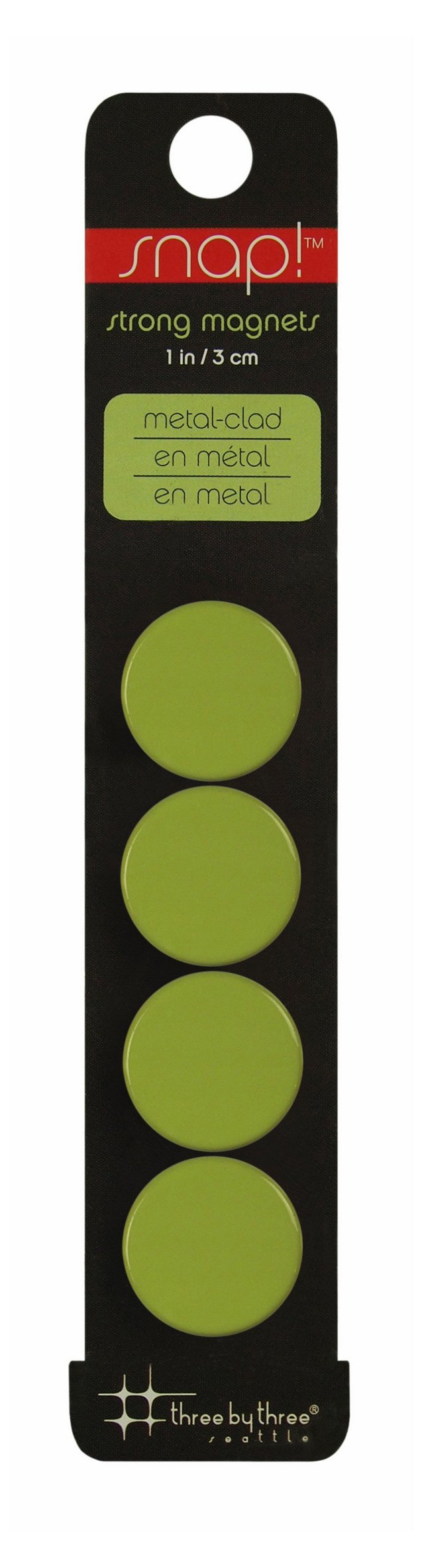S/16 Snap! Strong Magnets, Green