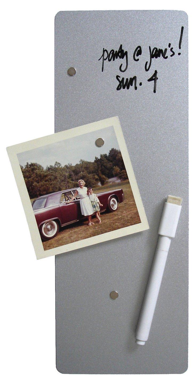 Dry-Erase Magnet Board, Silver