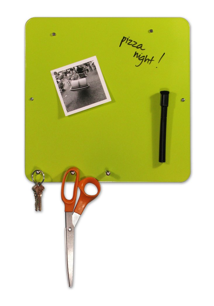 Dry-Erase Hang On Board, Green