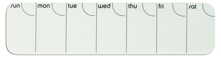 Stick It! Weekly Planners, S/4