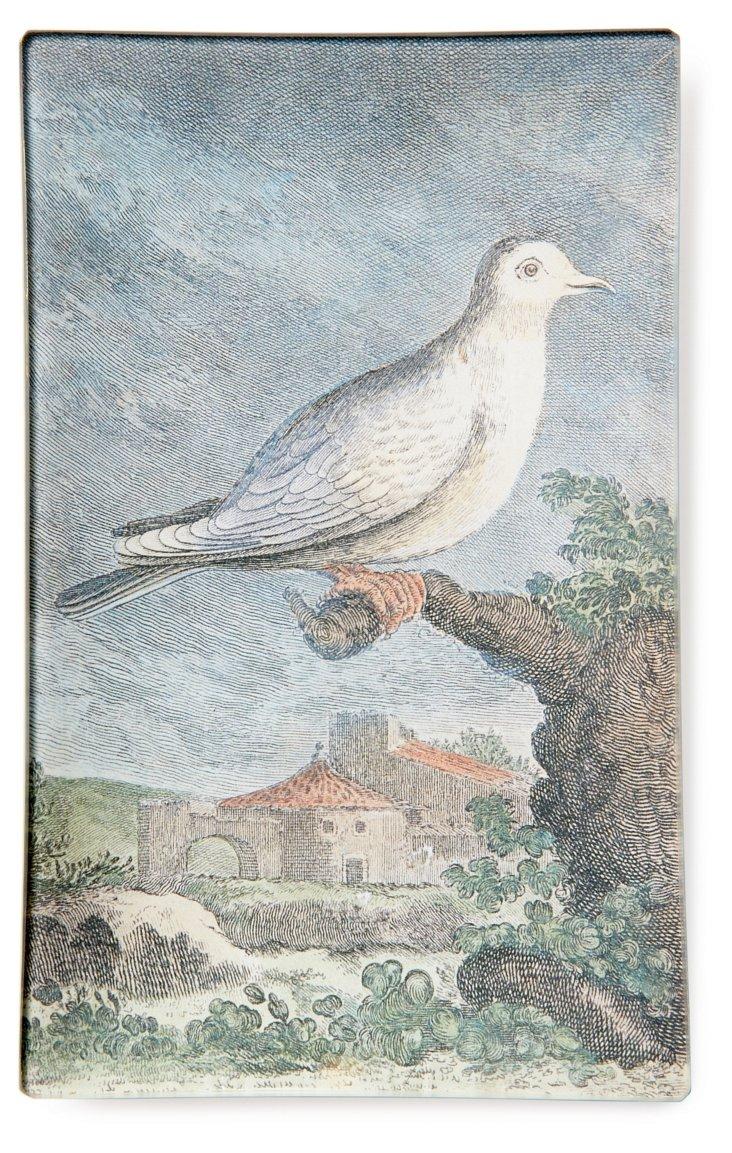 5x8 White Dove Tray