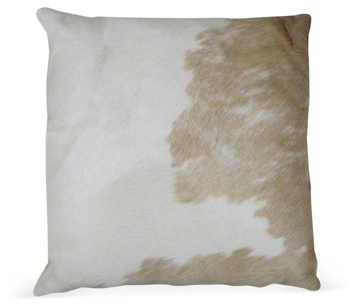 Palomino Cloud Hide Pillow