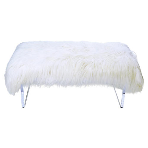 Jenna Bench, White