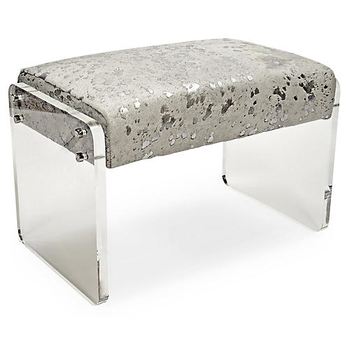 Samantha Bench, Silver/White