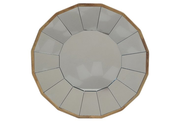 Round Overlapping Circles Mirror