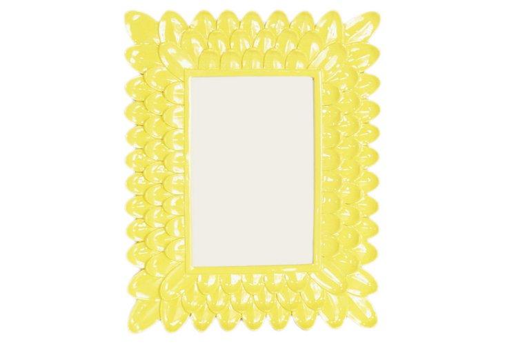 5x7 Petal Frame, Yellow