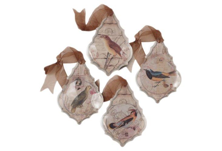 Bird Wall Ornaments