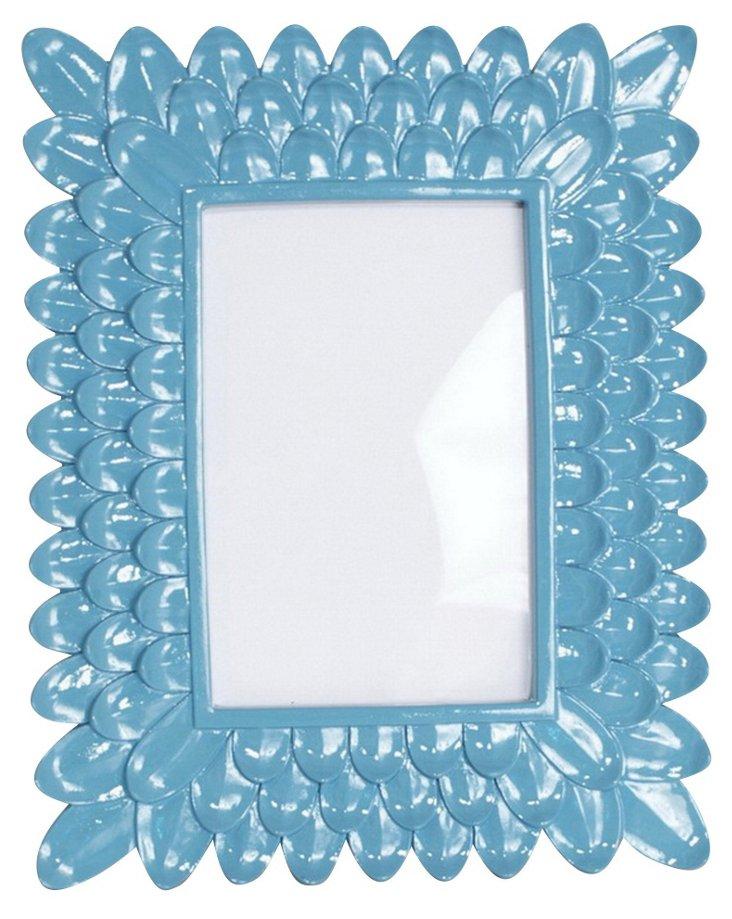 4x6 Petal Frame, Blue