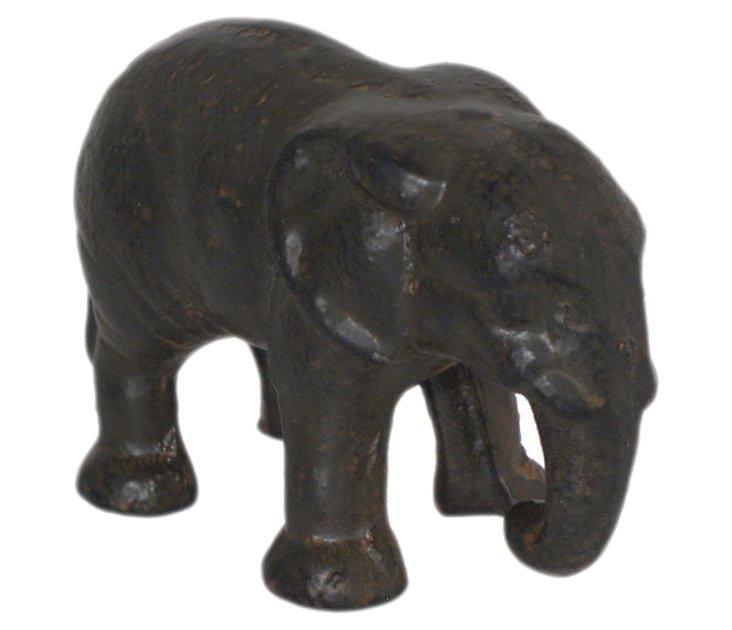 Iron Elephant Objet