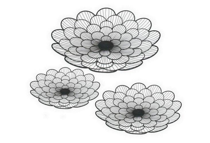 S/3 Wire Flower Trays