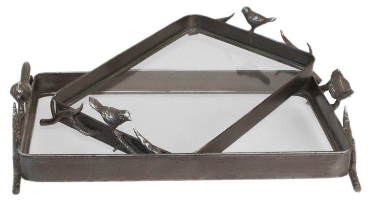 Bird Trays, Asst. of 2