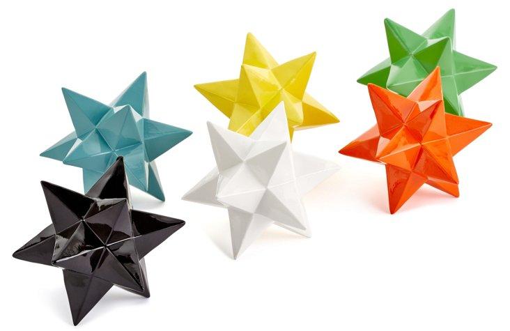 Ceramic Stars, Asst. of 6