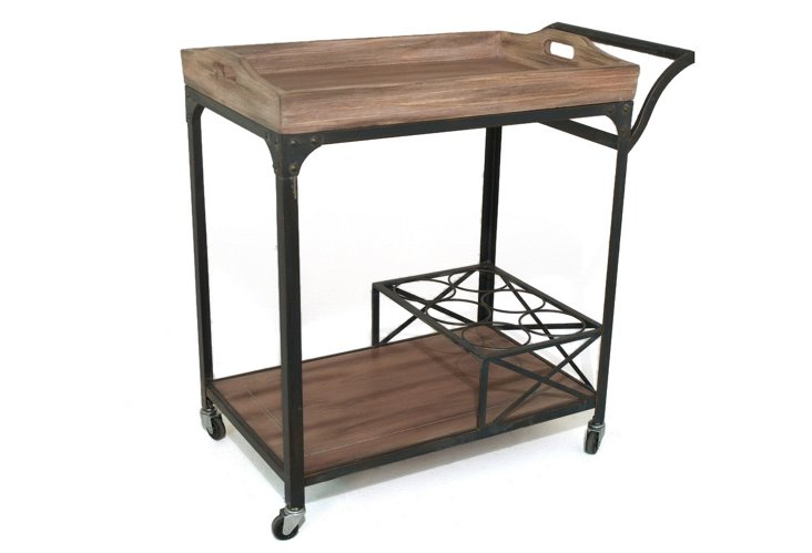 Clinton Dining Cart