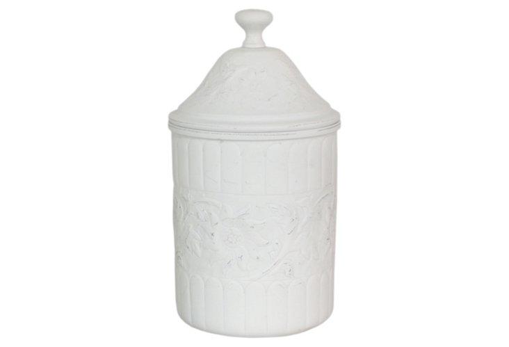 """12"""" Matte Covered Jar"""