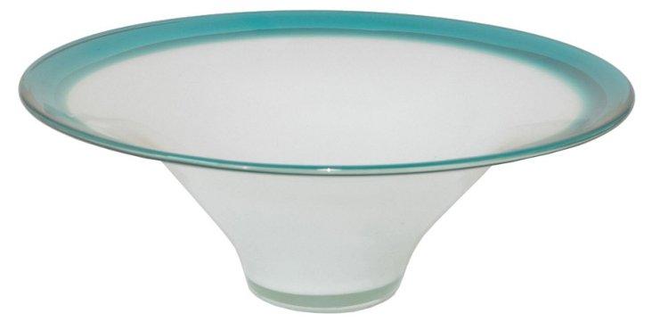 Two-Tone Glass Bowl
