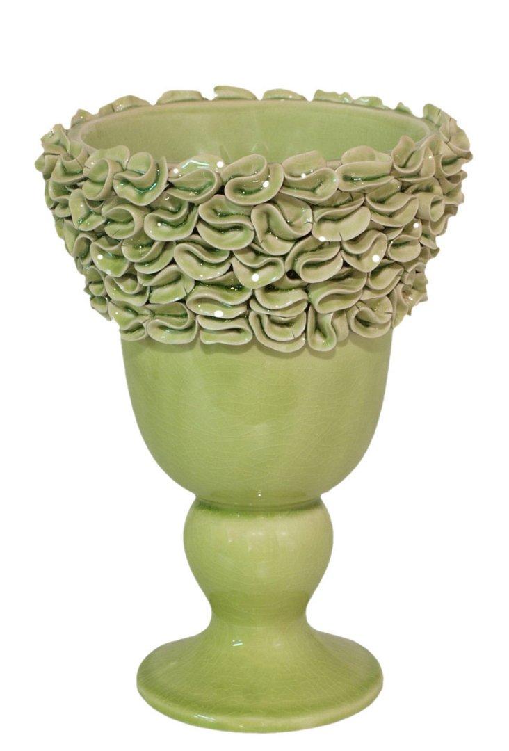 Petal Vase, Green