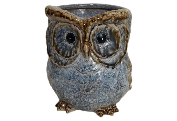 Owl Vase, Large