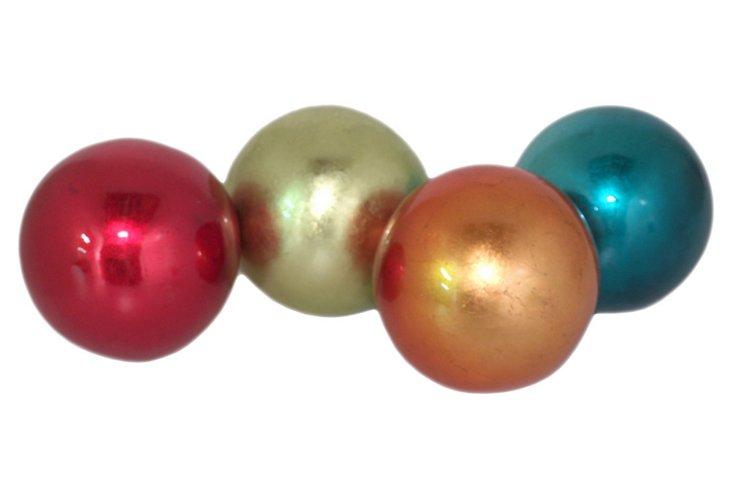 Small Metallic Orbs, Asst. of 4