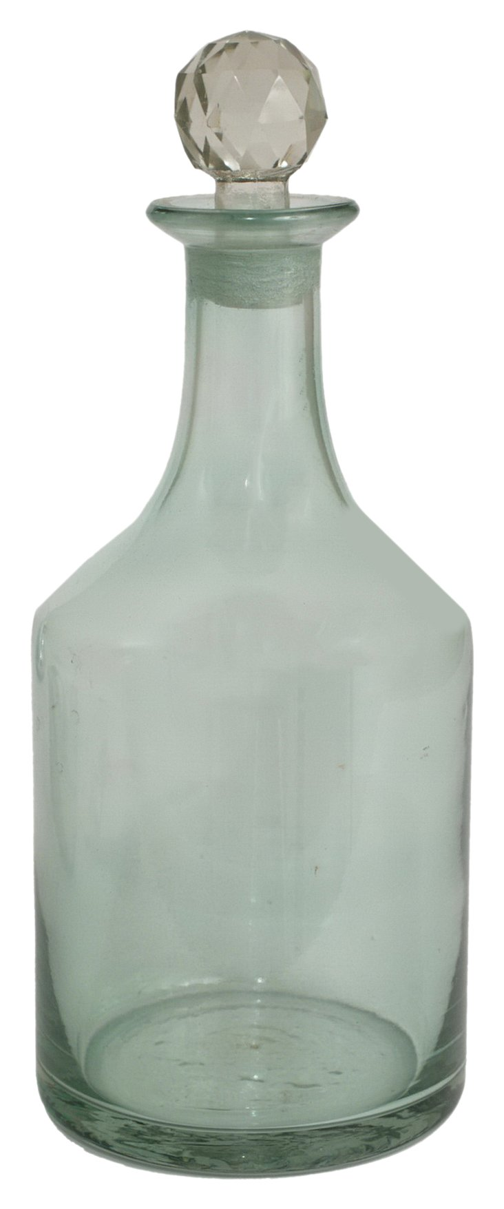 Smoke Glass Bottle w/ Stopper