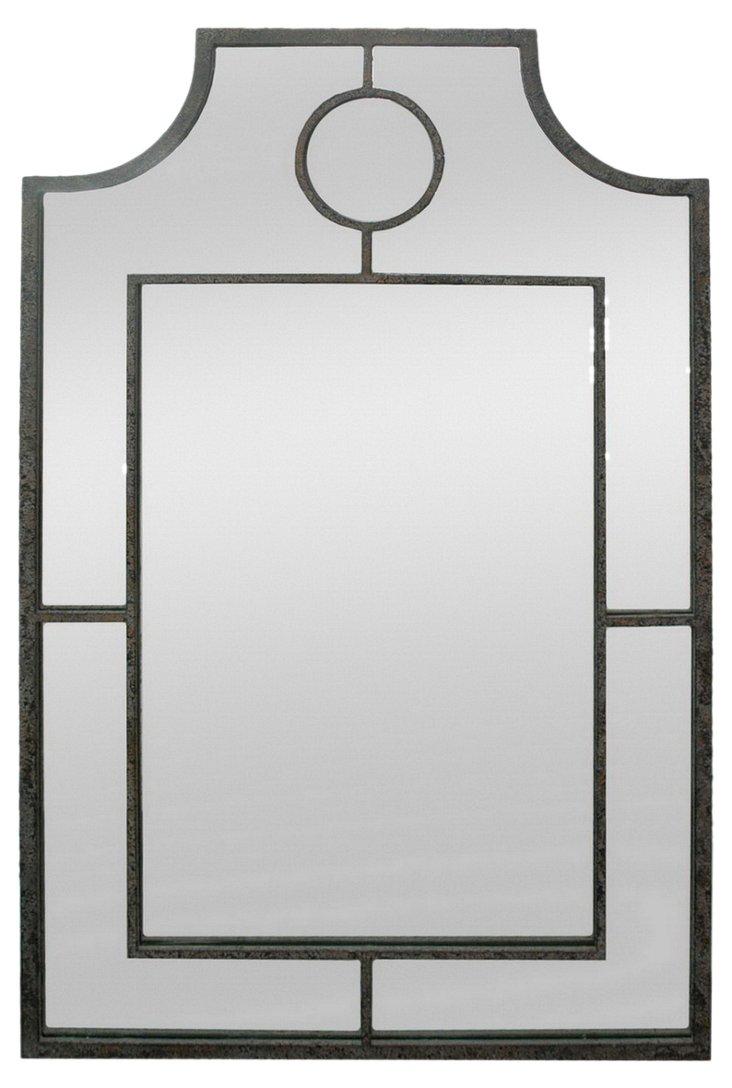 Architectural Mirror, Black