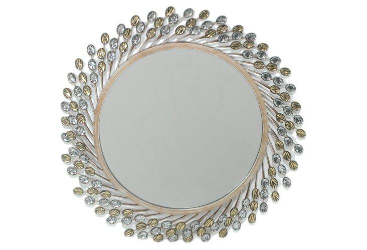 Jeweled Sunburst Mirror
