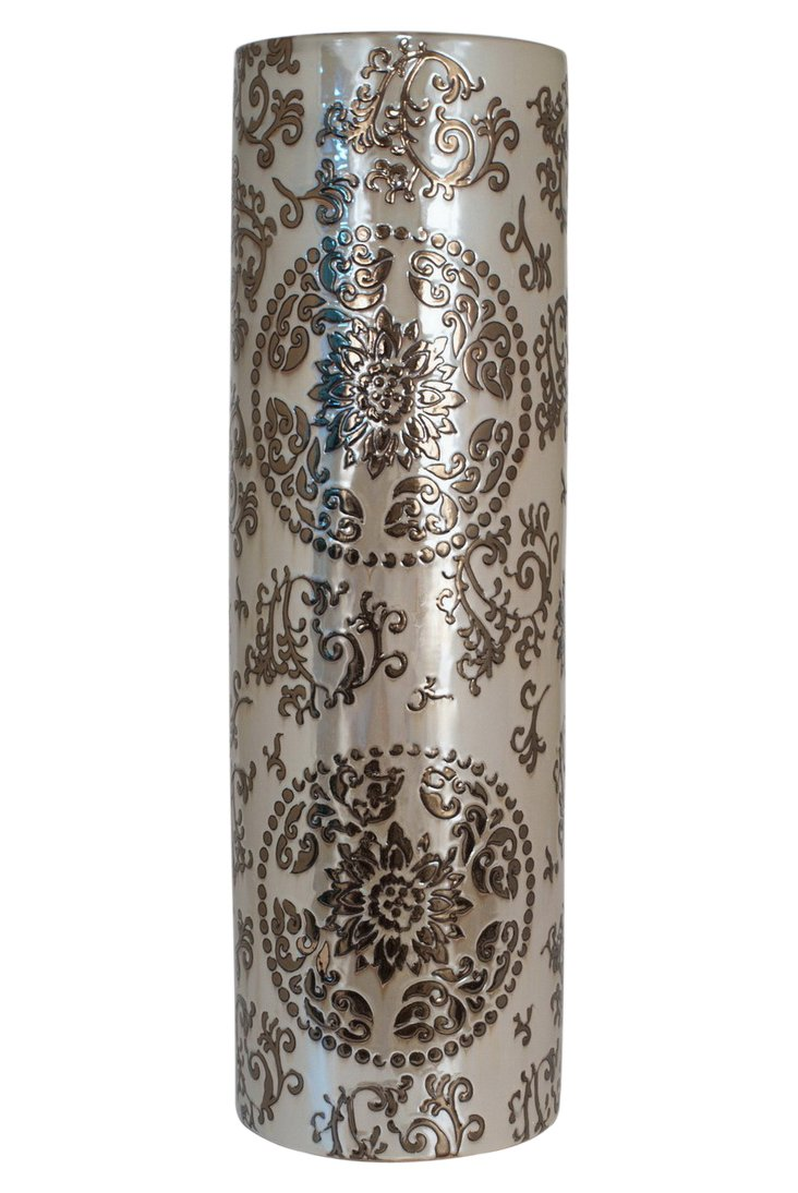 "28"" Vase, Golden Pearl"