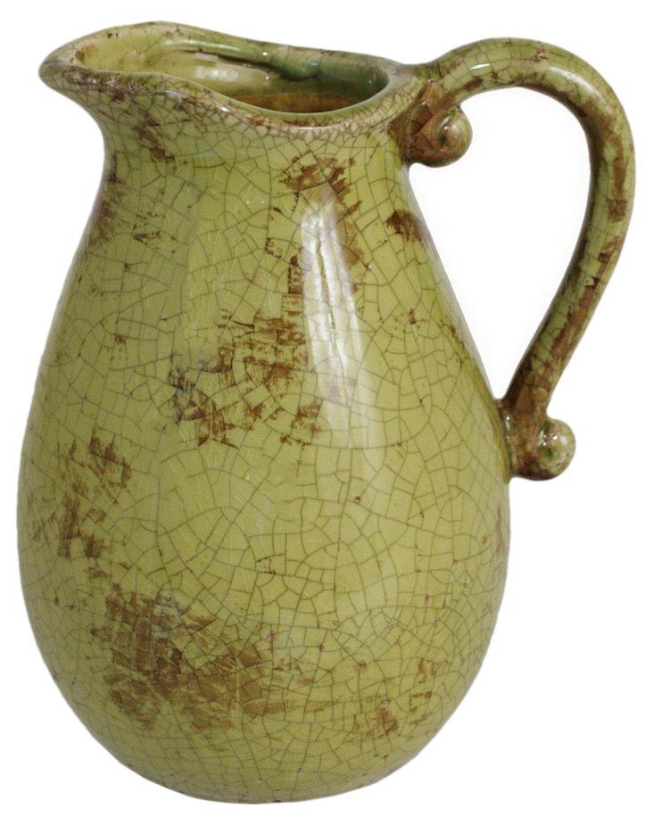 "9"" Ceramic Pitcher"