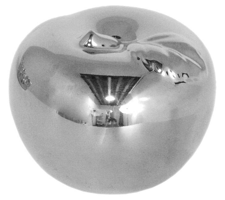 S/2 Ceramic Apple Objets