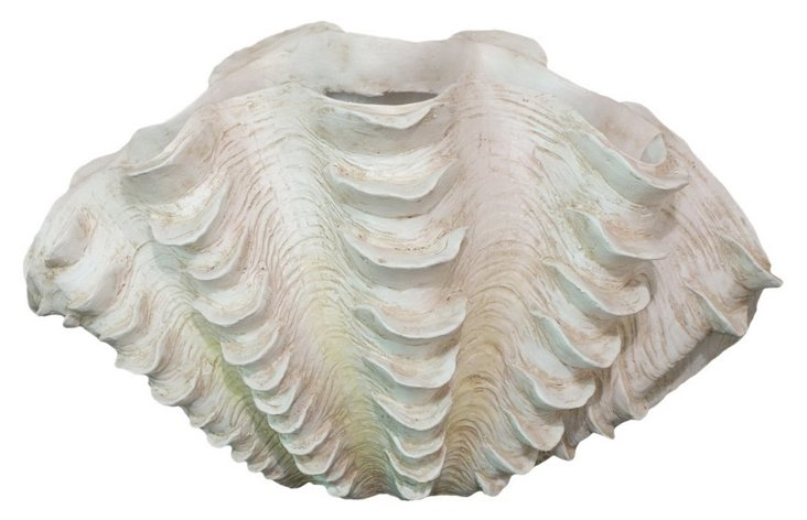 Decorative Clam Shell, Large
