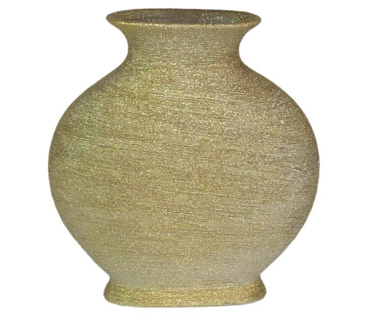 """12"""" Iridescent Ceramic Vase"""