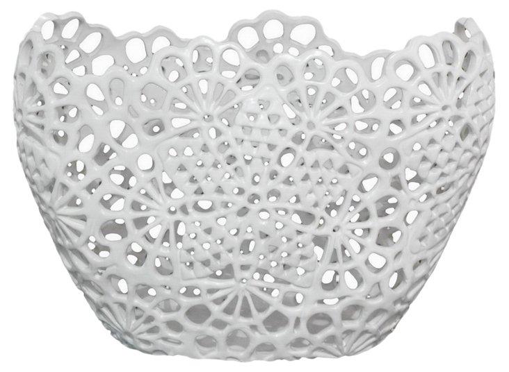 Matte Lace Vase