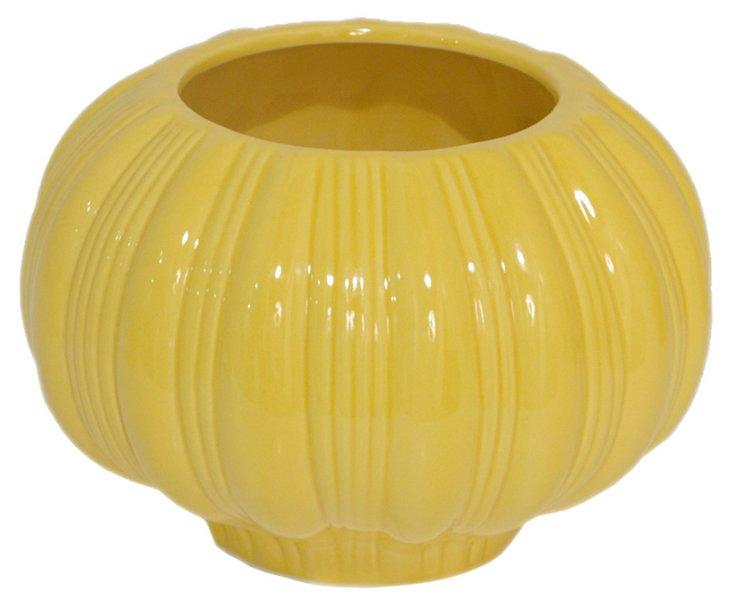 "5"" Yellow Gourd Vase"