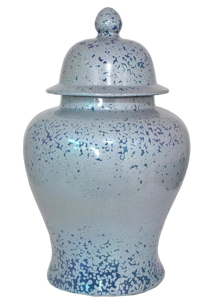 "28"" Speckled Temple Jar"