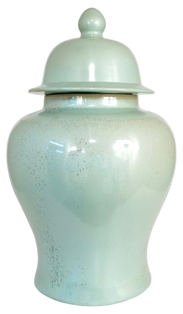 """29"""" Seafoam Temple Jar"""
