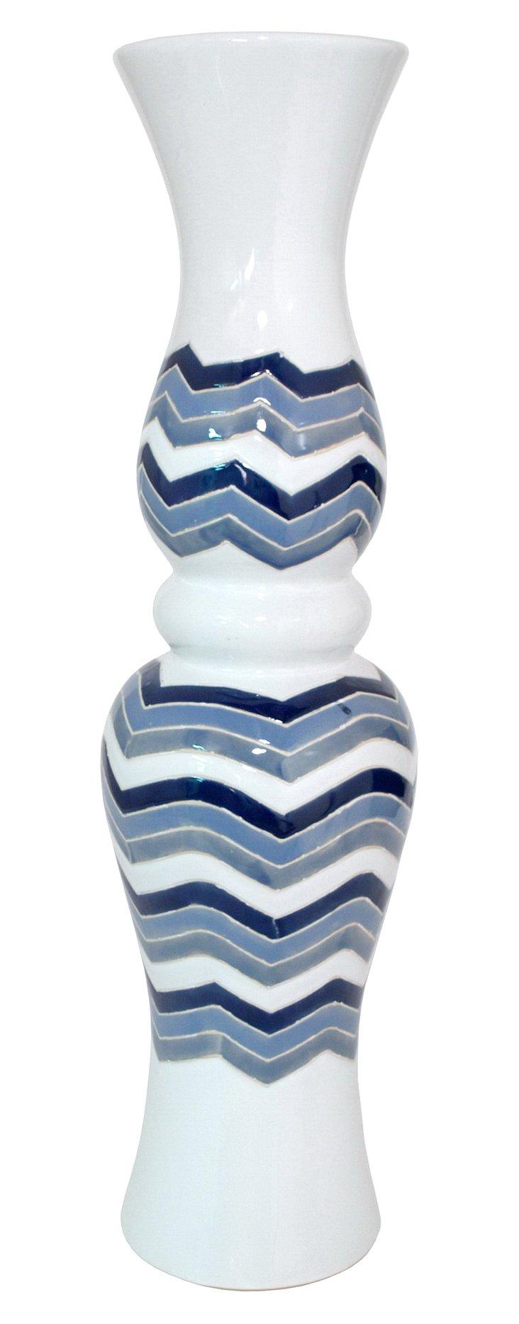 """26"""" Zigzag Vase"""