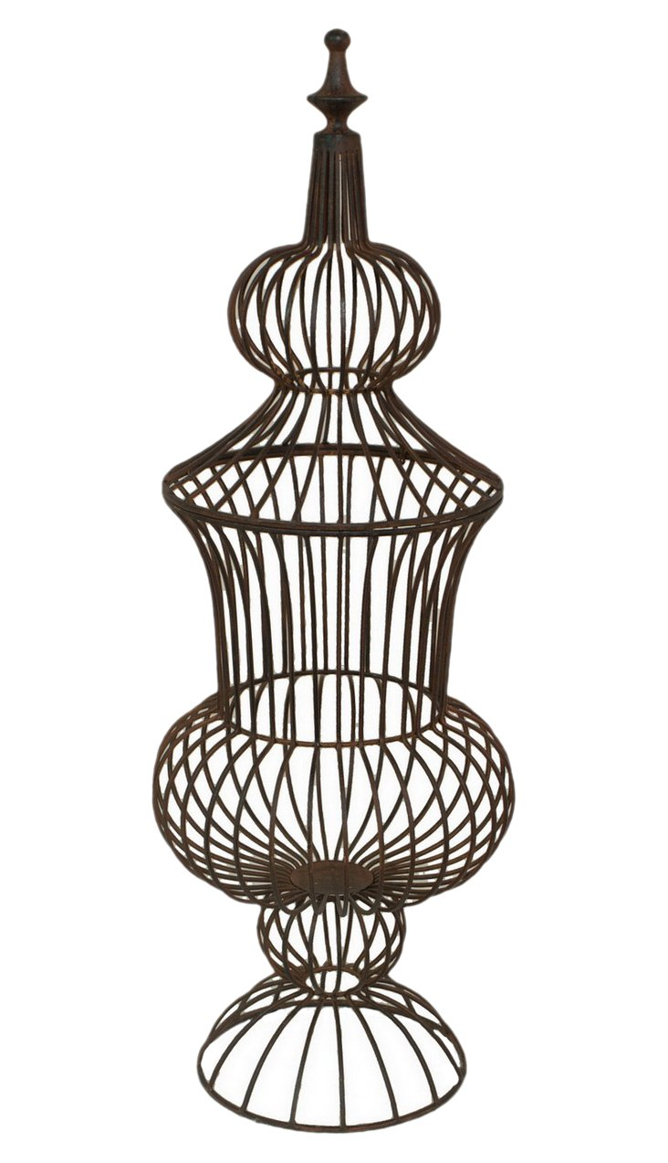 "29"" Wire Finial"
