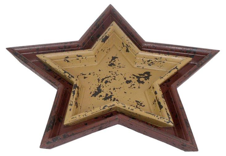 Star Nesting Trays, Asst. of 2